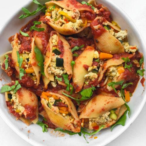 tofu ricotta and veggies