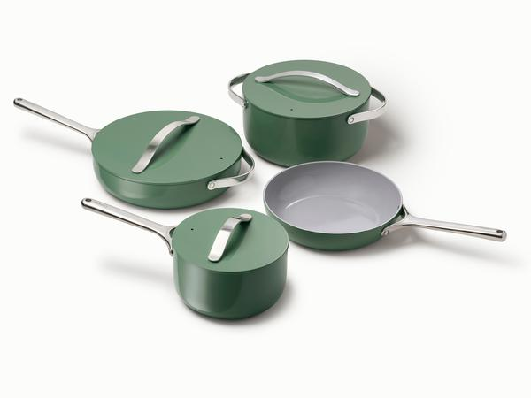 Caraway Home Non-toxic Cookware Sage Green
