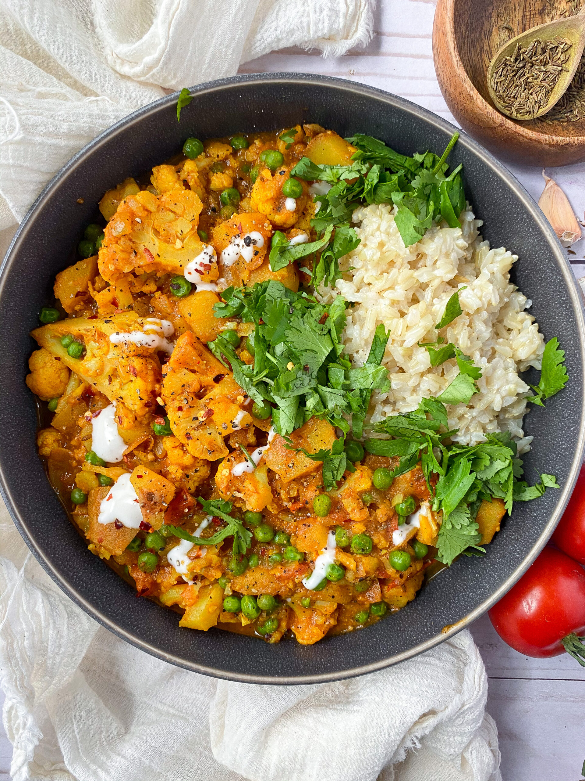 Spicy Vegan Cauliflower Curry Recipe