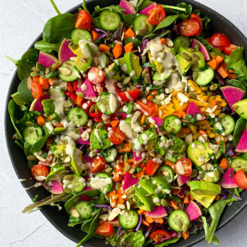 Rainbow-vegan-Salad