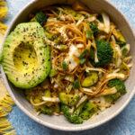 Cold Udon Noodles Salad
