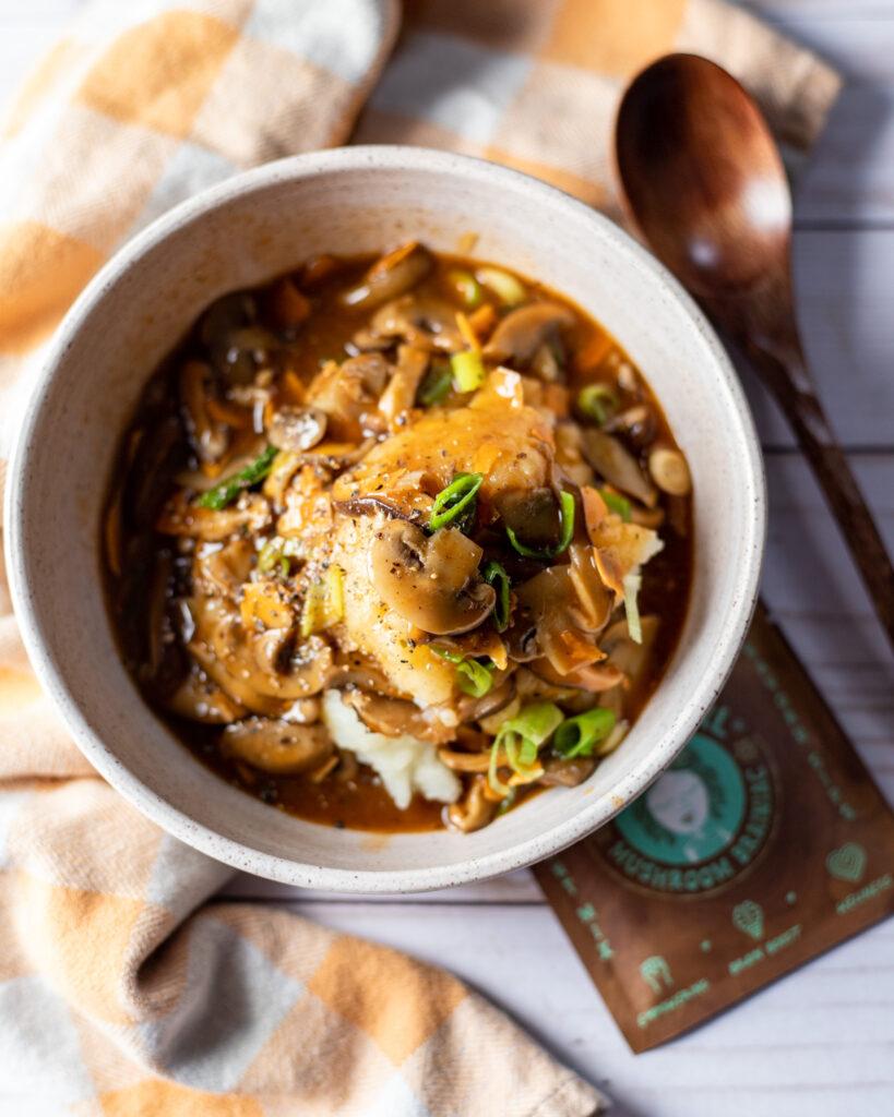 Mushroom Gravy Photo